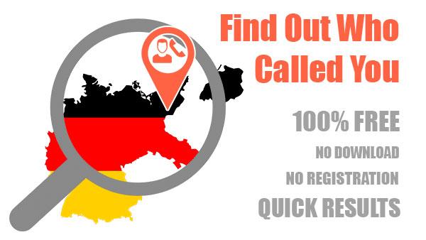 Reverse phone lookup in Germany | Free Lookup