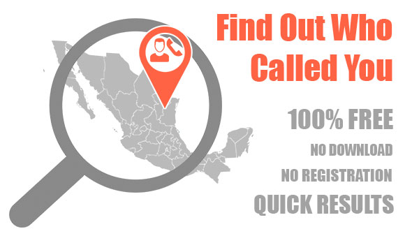 Reverse phone lookup in Mexico through Free Lookup