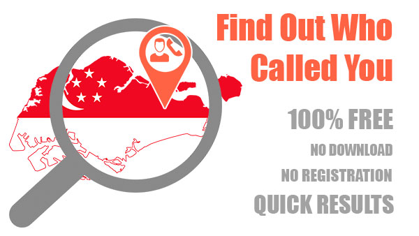 Reverse phone lookup in Singapore through Free Lookup